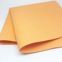Фоамиран (50*50 см*1 мм.) Оранжевый