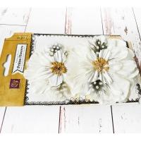 Цветы Firebird Белые, 2шт.