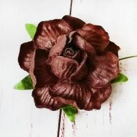 Роза Коричневая (4,5см) 1шт