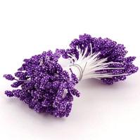 Тычинки двухсторонние Фиолетовые, 144 шт.