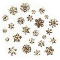 Снежинки (25 шт.)