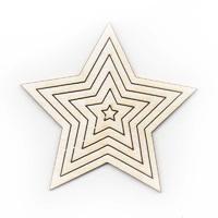 Звезды, 6 шт.
